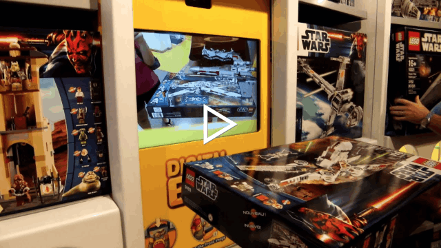 Lego ar essayage drive to store